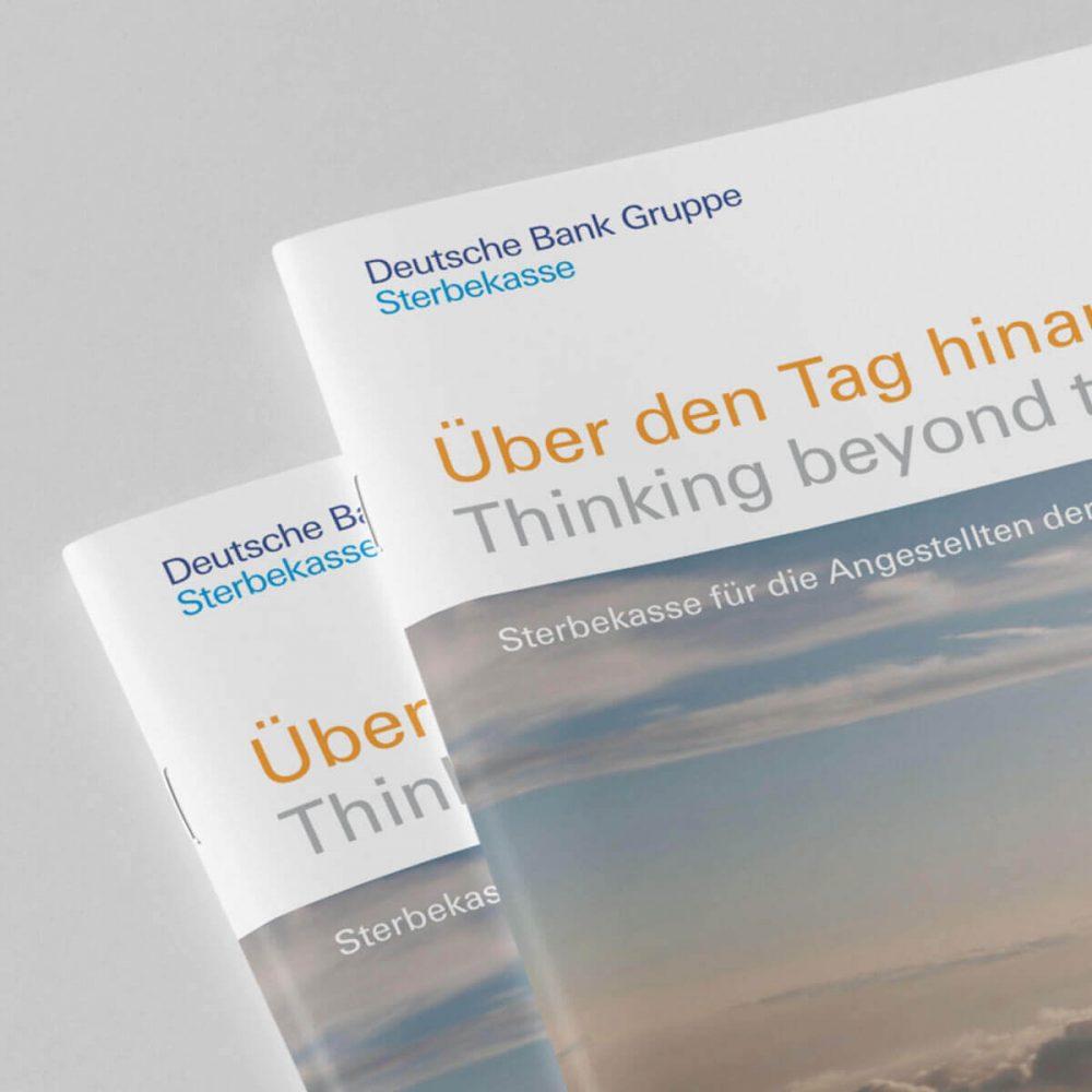 Katalog erstellen lassen Berlin Grafiker Berlin Grafikdesigner Berlin Grafikbüro Berlin Werbeagentur Berlin projekt deutsche bank